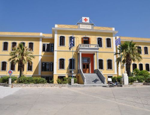 Vouvaleio Hospital in Kalymnos